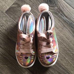 Cat & Jack sparkle bunny sneakers